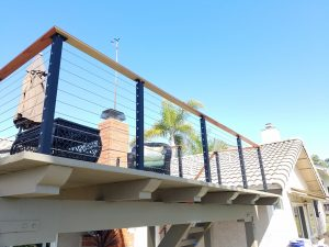 full view wire railing